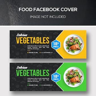 Portada de facebook de comida