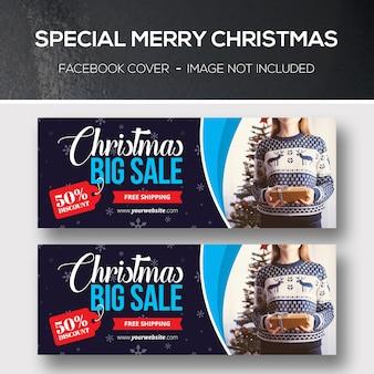 Portada de navidad en facebook