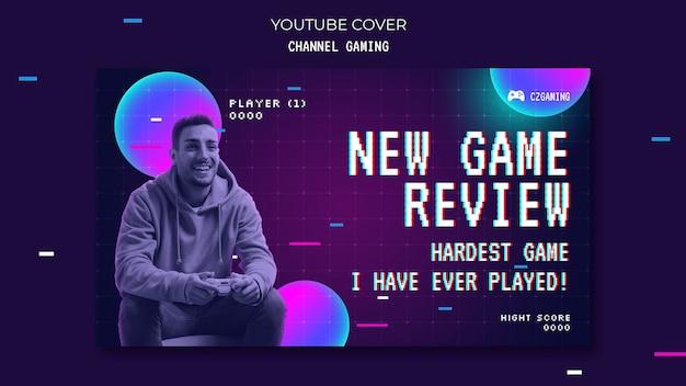 Portada de youtube de transmisión de juegos