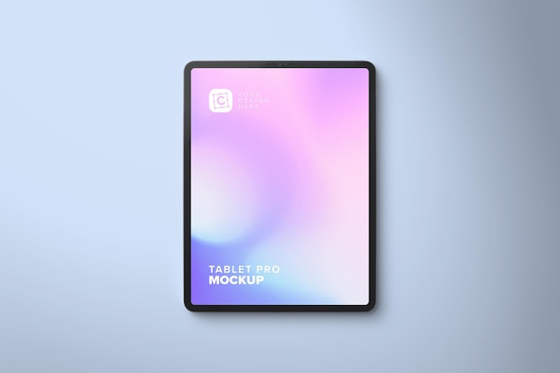 Portrait pro-tabletmodel voor webdesign