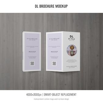 Portret dl brochure mockup