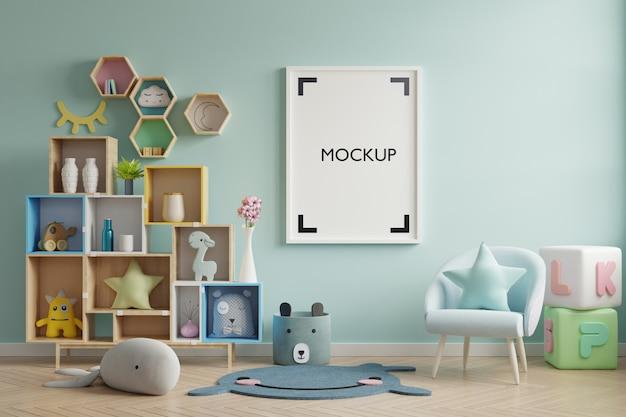Poster all'interno della stanza del bambino