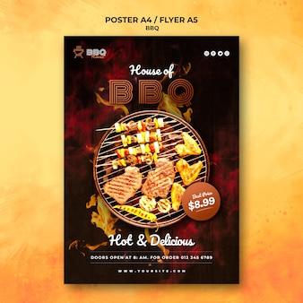 Poster di barbecue
