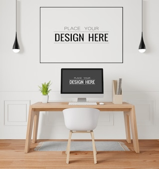 Posterframe in kantoormodel
