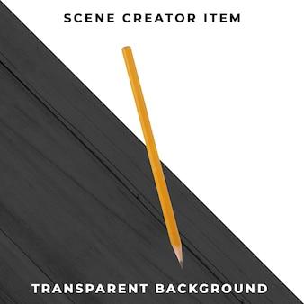 Potloodobject transparant psd