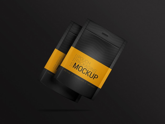 Pouch verpakking mockup