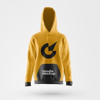 Premium hoodie mockup vooraanzicht