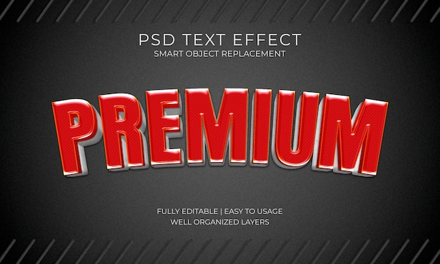 Premium tekenteksteffect