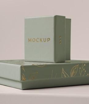 Premium verpakking mock-up assortiment