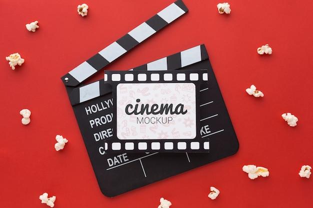 Prendi una scheda batacchio di film di scena
