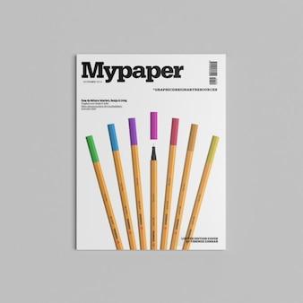 Presentación de cubierta de revista