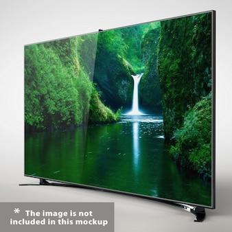 Presentazione televisione realistica