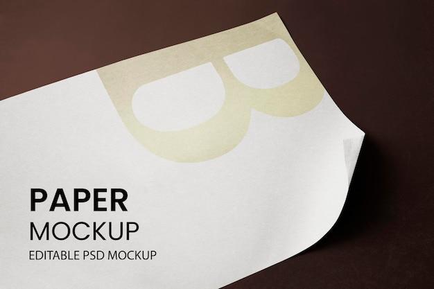Primer plano de papelería de papel y lápiz