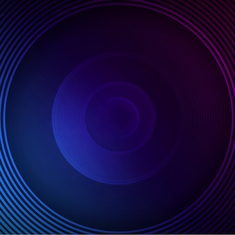 Priorità bassa del cerchio blu