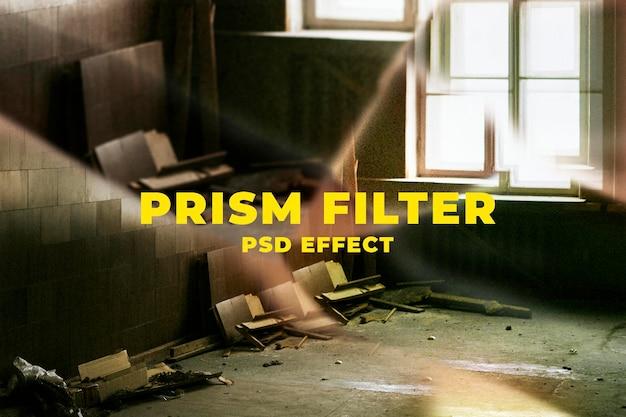 Prisma caleidoscoop psd-effect eenvoudig te gebruiken