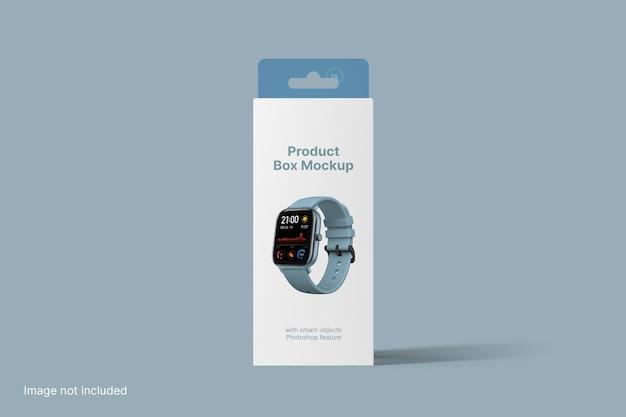Product box mockup vooraanzicht