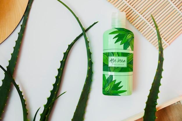 Producto cosmético con aloe vera