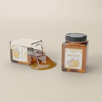 Producto de miel orgánica