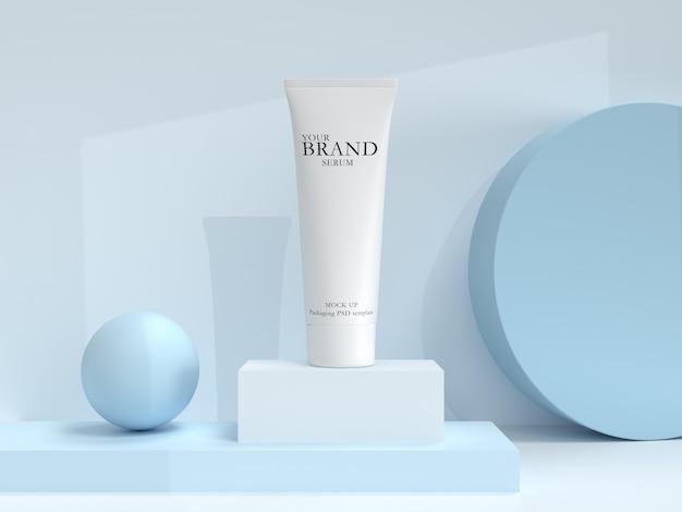 Productos cosméticos hidratantes para el cuidado de la piel
