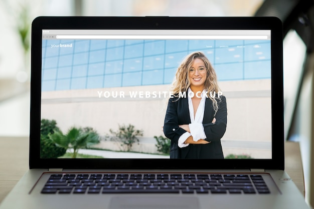 Professionele laptop schermmodel