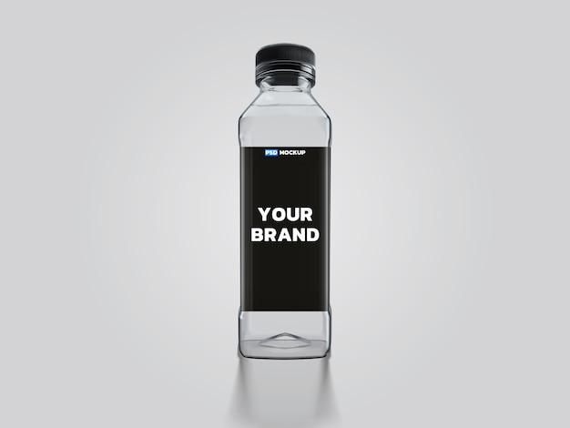 Progettazione della rappresentazione 3d del modello della bottiglia di acqua