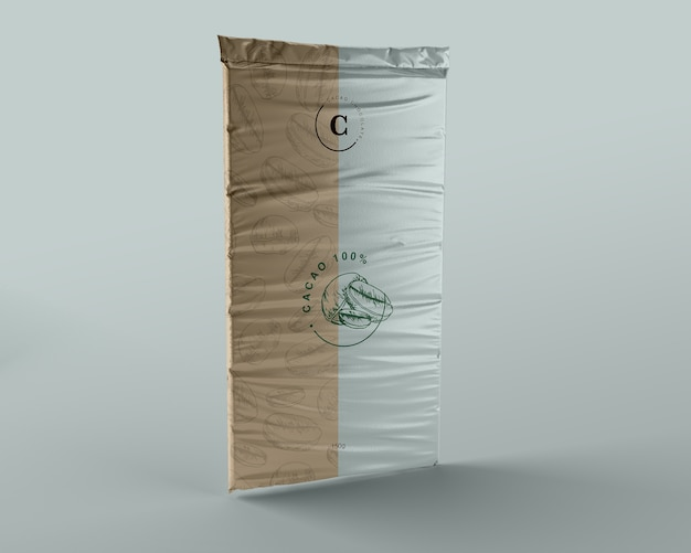 Progettazione di imballaggi in plastica per compresse di cioccolato