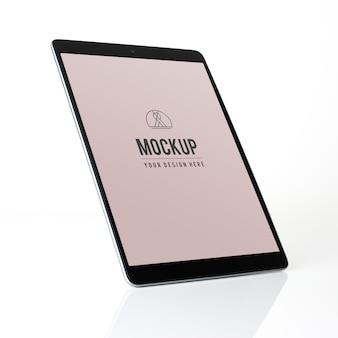 Progetto di mockup di tablet a schermo intero
