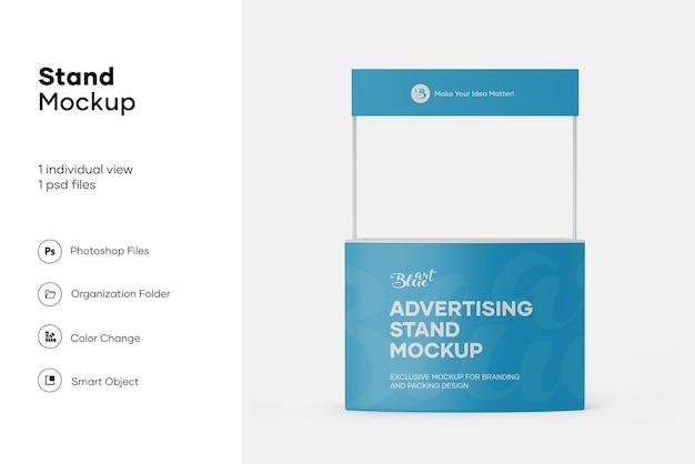 Promo stand mockup design