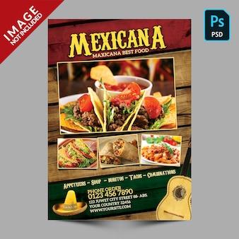 Promoción de comida mexicana