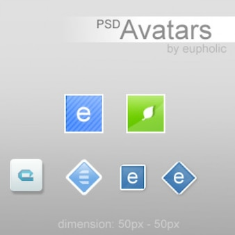 Psd avatarpack vol