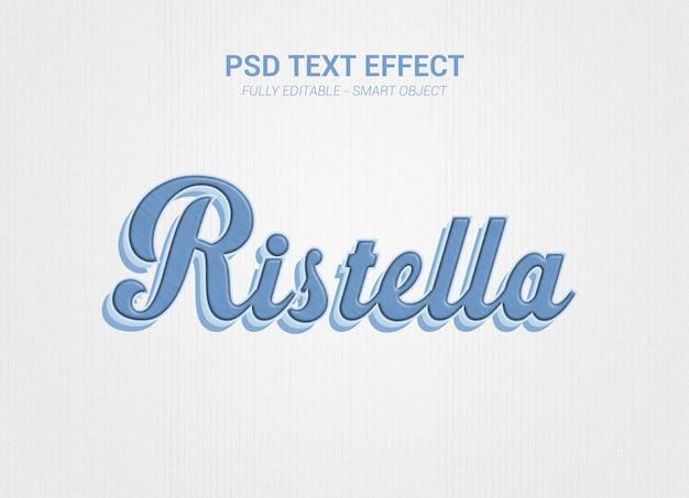 Psd-teksteffect