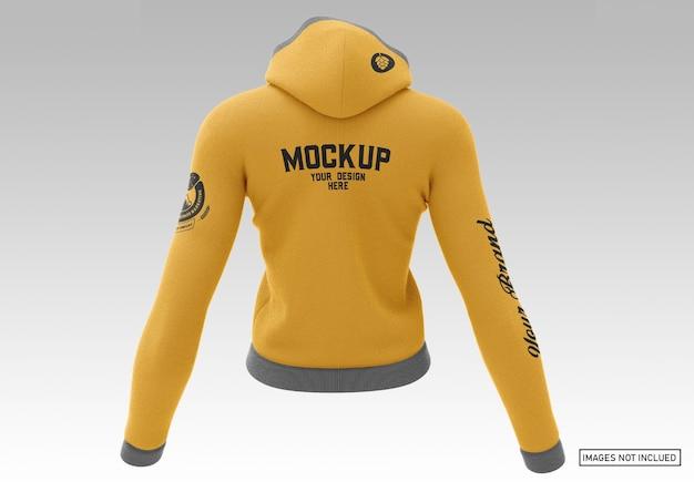 Pullover hoodie - achteraanzicht