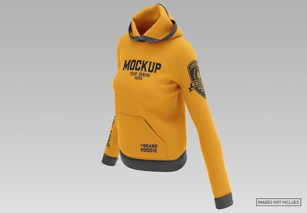 Pullover hoodie - voorzijde half zijaanzicht