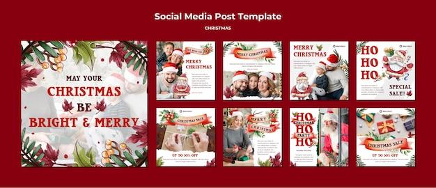Que tu navidad sea brillante y alegre publicaciones de instagram