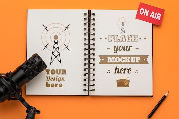 Radioconcept met mock-up
