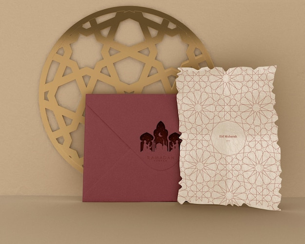 Ramadan kareem concept mock-up