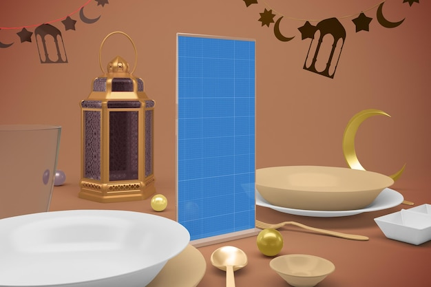Ramadan staand menu