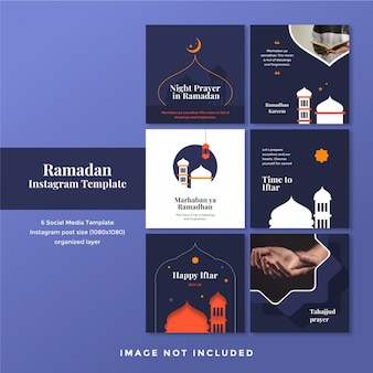 Ramadhan mubarak social media post