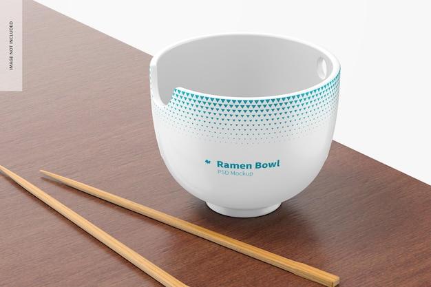 Ramen bowl mockup