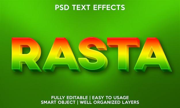 Rasta-teksteffect