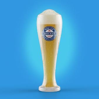 Realistisch bierbekermodel
