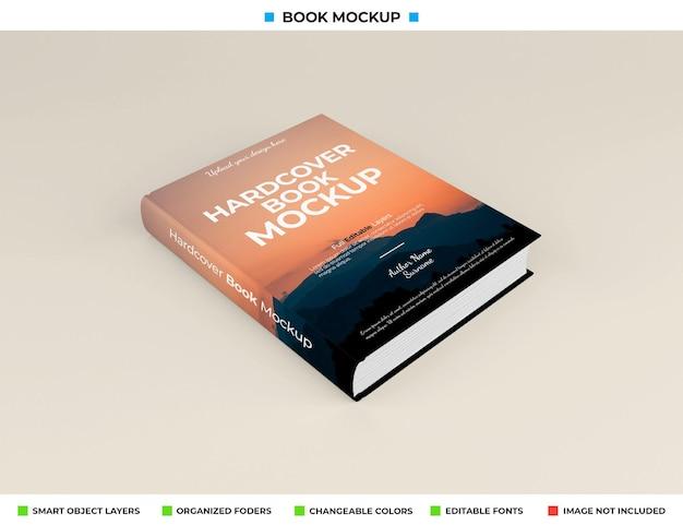 Realistisch boek mockup ontwerp geïsoleerd