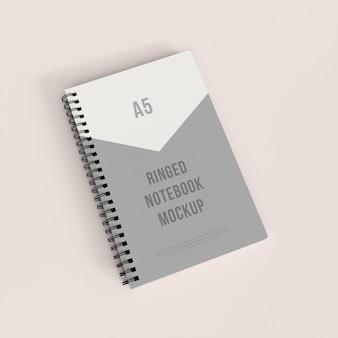 Realistisch geringd notebookmodel premium psd