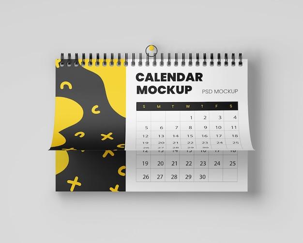 Realistisch hangend kalendermodel