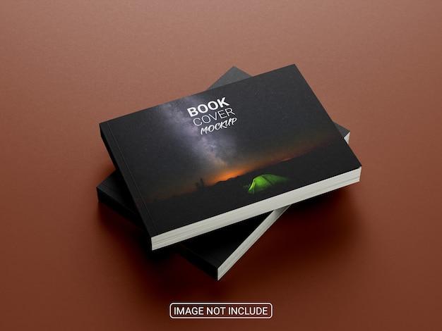 Realistisch lanscape-boekmodel