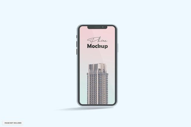 Realistisch modern telefoonmodel