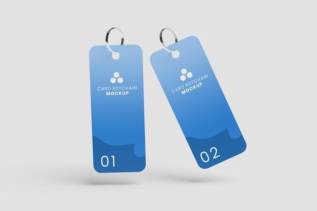 Realistisch plastic sleutelhangermodel