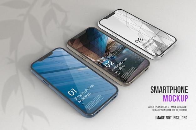 Realistisch smartphonemodel