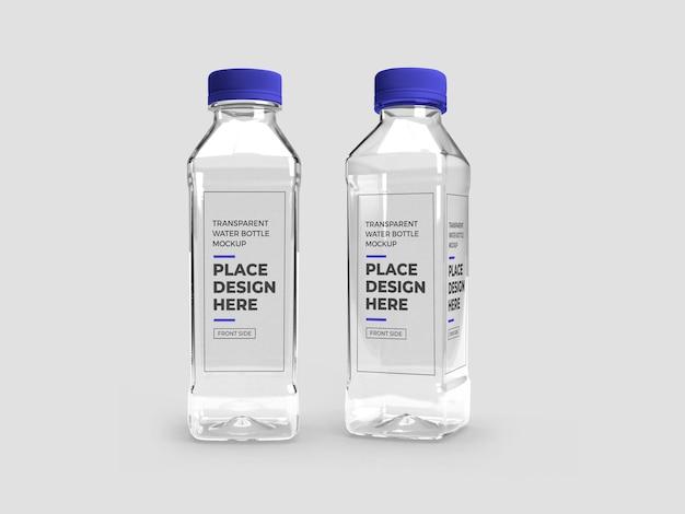 Realistisch transparant plastic flesmodel