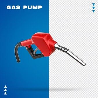 Realistische 3d-benzinepomp